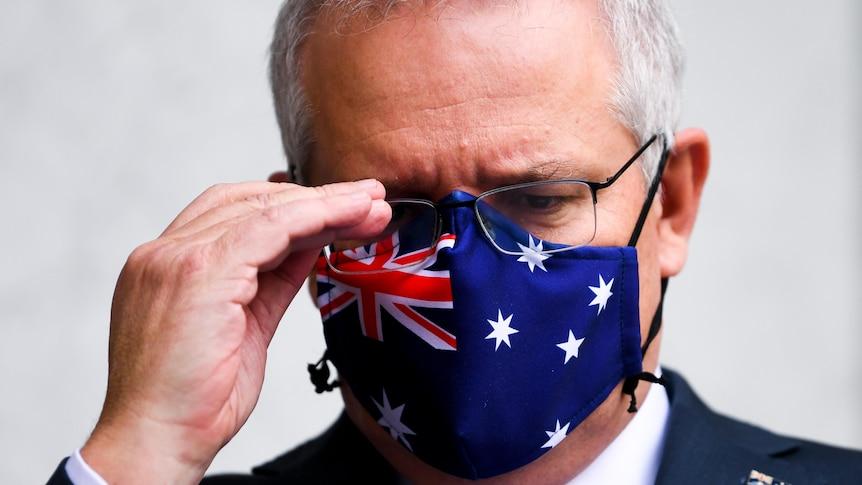 澳大利亚的COVID图像看起来很危险,我们领导人的权威正在解体