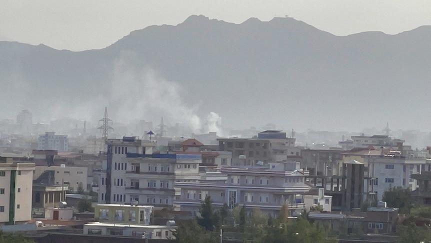 美国截获至少五枚射向喀布尔国际机场的火箭弹