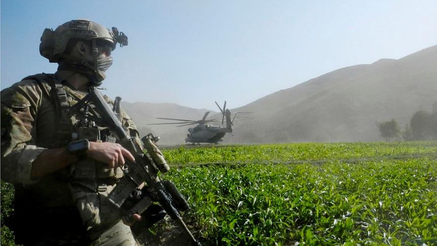 在阿富汗战争犯罪指控之后,SAS得到了