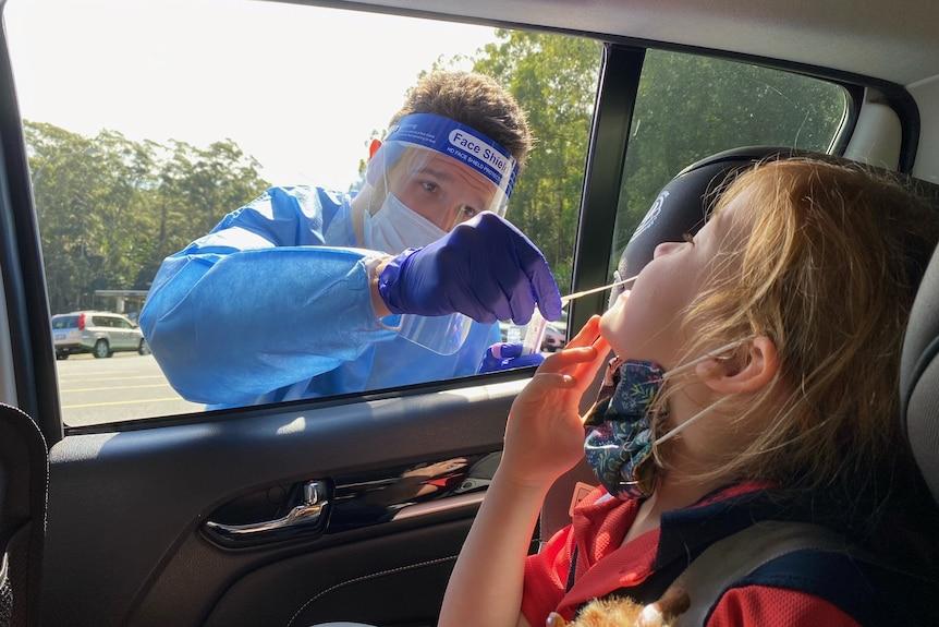 4岁女孩在与洛根卡车司机接触后对COVID-19检测呈阳性