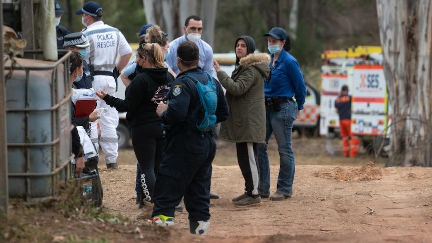 家人担心失踪的3岁自闭症男孩被绑架了