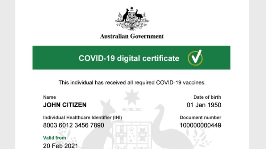 新南威尔士州摆脱COVID限制的路线图给了接种者更多的自由--如何证明你已经接种了疫苗?