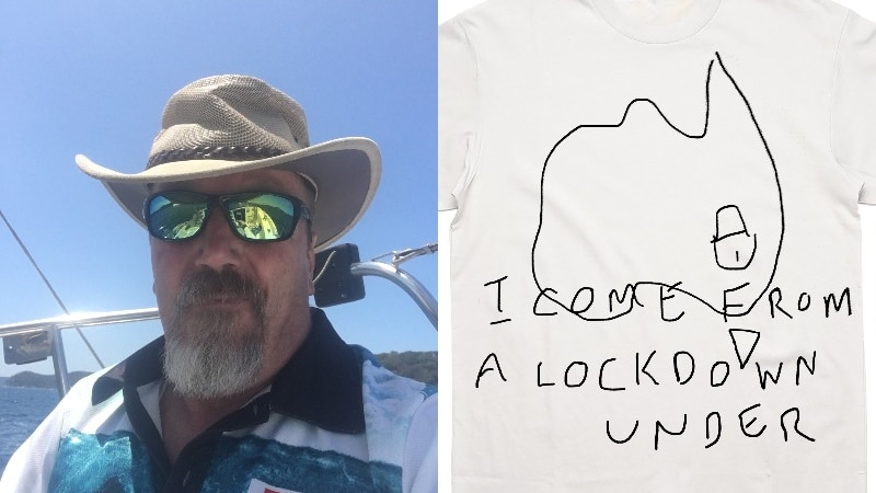 T恤衫比赛激发了悉尼的禁闭创意,这一切都是为了一个好的目的