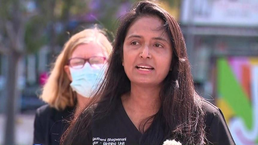 产科医生Gauthami Bhagwanani呼吁孕妇接种COVID-19疫苗