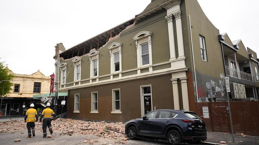 曼斯菲尔德5.8级地震震动墨尔本、维多利亚州地区、新南威尔士州南部、悉尼、堪培拉、阿德莱德和朗赛斯顿