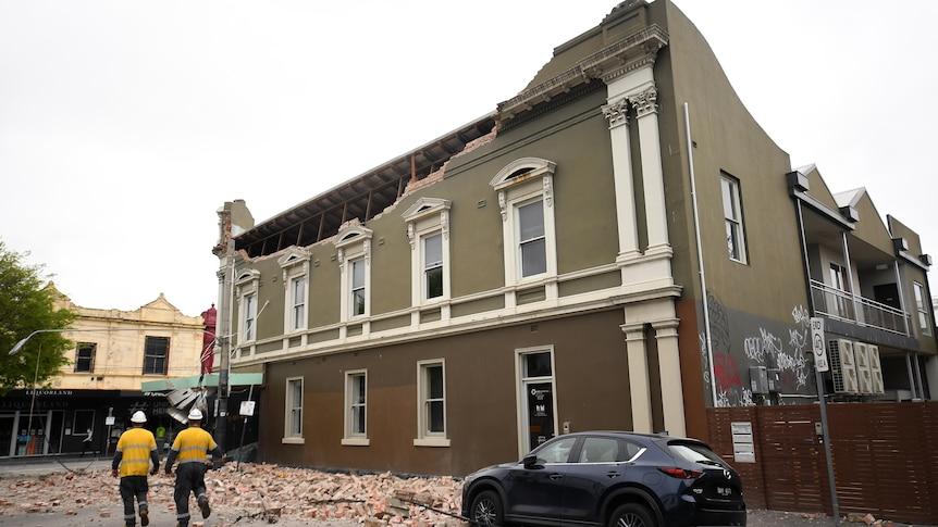 维多利亚州的地震发生后,如何检查你的房屋是否受到损害,以及你应该怎么做
